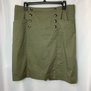 H&M Army Green Skirt, Size 12